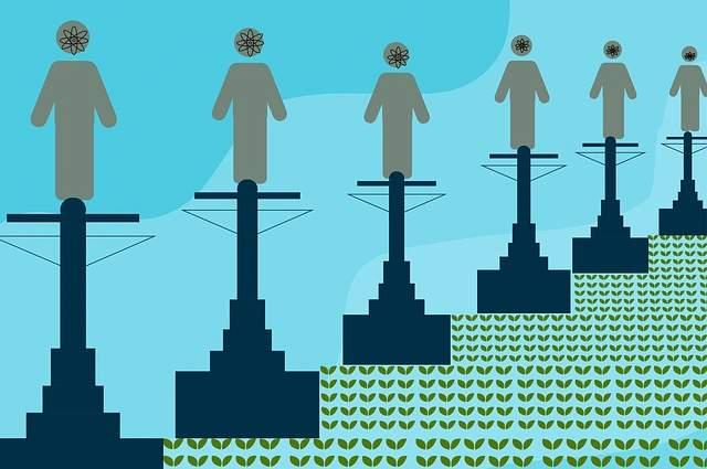 Elettrico città intelligente