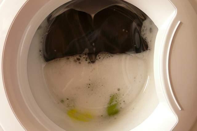 Lavaggio lavatrice