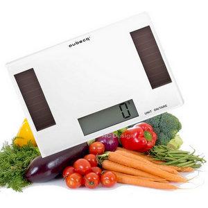 Aubecq 001016 Bilancia da Cucina, Solar, Bianco