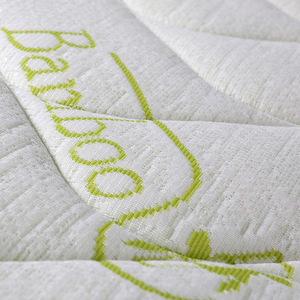 Evergreenweb Materasso Matrimoniale in fibra bamboo 160x190