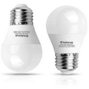 Kakanuo Lampadina LED E27 G45A15 4W Bianco Caldo 2700K 450 Lumen