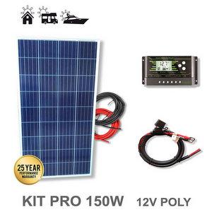 Kit 150W PRO 12V pannello solare