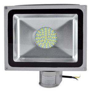 Leetop 20W 30W 50W 80W Faretto a LED con Sensore di Movimento