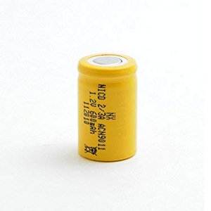 NX - Batteria Ricaricabile Nicd Industria 23A 1.2V 650mAh FT