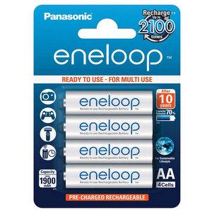 Panasonic Eneloop Batterie Stilo AA Ricaricabili 1900mAh