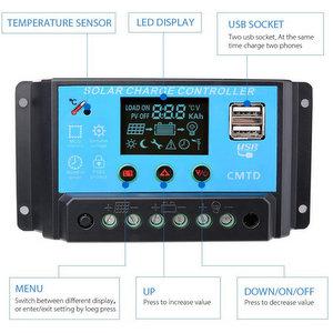 Sunix® 20A Pannello solare regolatore di carica