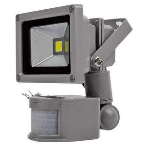 V-TAC LED Faro 10W con Sensore IP65 Bianco 6000K