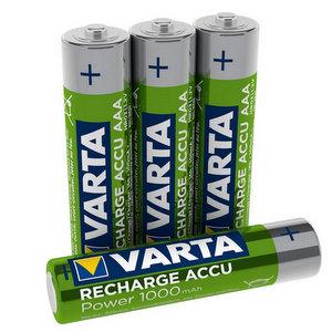 Varta Batteria Ricaricabile AAA MiniStilo 1000 mAh