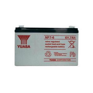 Yuasa NP12-6 - Batteria piombo-acido da 6V, 12Ah
