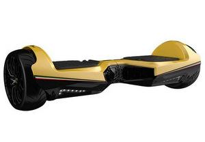 Twodots Hoverboard Glyboard Veloce Lamborghini Corse, Ruote 6.5''Giallo