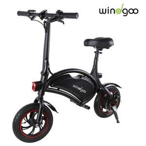 Windgoo Bicicletta Elettrica Pieghevole 350 W Batteria 36V 6,0 Ah