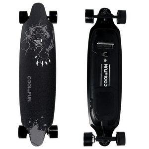 COLORWAY Skateboard Elettrico con 4 Ruote Long Board