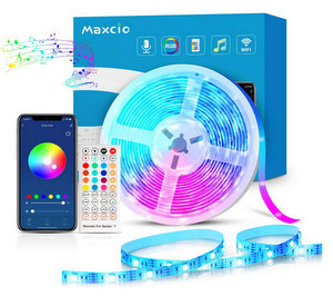 Maxcio Striscia LED RGB WiFi 5M