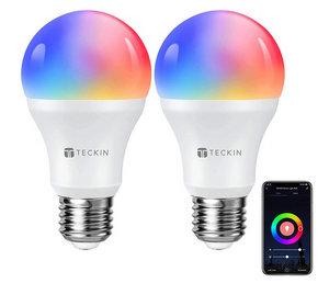 TECKIN Lampadina Wifi Intelligente Smart