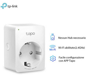 TP-Link Presa Intelligente WiFi Smart Plug