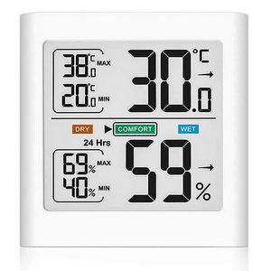 HOPLAZA Igrometro Termometro Digitale da Interno