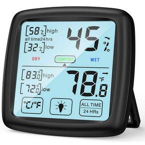 NIXIUKOL Termometro Ambiente Igrometro Digitale Interno