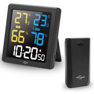 VIFLYKOO Termometro Igrometro Digitale Interno Esterno